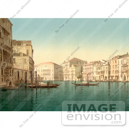 #11706 Picture of the Grand Canal, Venice, Italy by JVPD