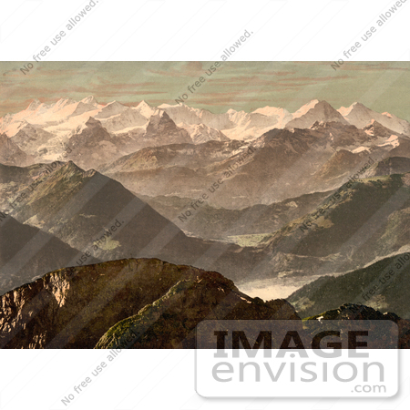 #11985 Picture of the Bernese Alps in Switzerland by JVPD
