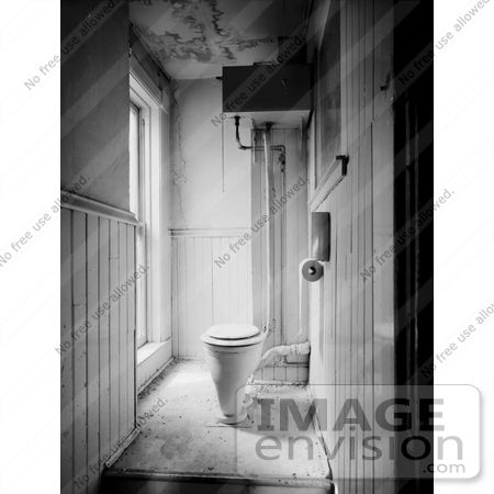Picture Of An Old High Level Cistern Toilet In A Bathroom 1224 By Jvpd Historical Photography