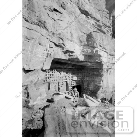 #12347 Picture of The Columbarium at Petra by JVPD