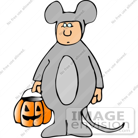 boy in a mouse costume on halloween clipart 12545 by djart rh imageenvision com clipart costume halloween halloween costumes clip art pages