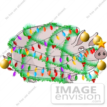 christmas tree clipart. a Christmas Tree Clipart