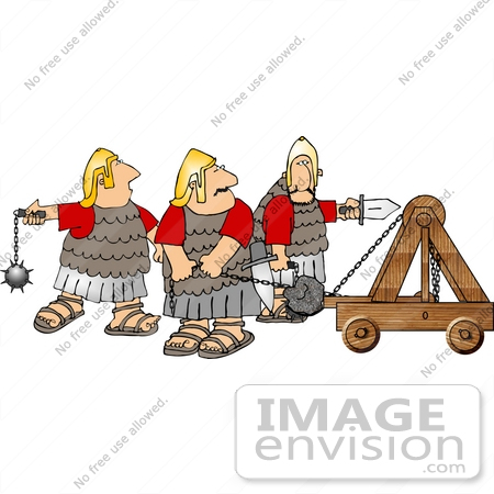 Royalty-Free Cartoons & Stock Clipart of Roman Soldiers | Page 1