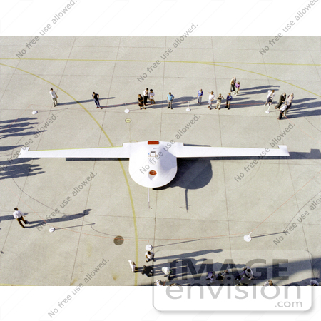 #1314 Stock Photo of a Tier 3 DarkStar on Ramp by JVPD