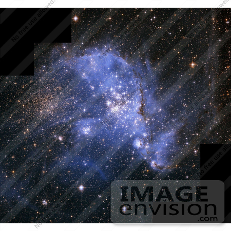 #1323 Photo of the Small Magellanic Cloud (SMC) by JVPD