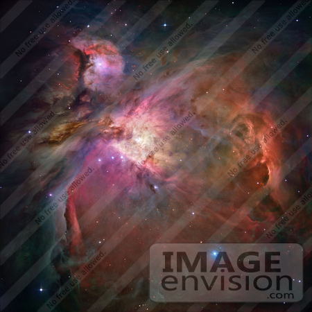 #1340 Photo of the Orion Nebula (Messier 42, M42, NGC 1976) by JVPD
