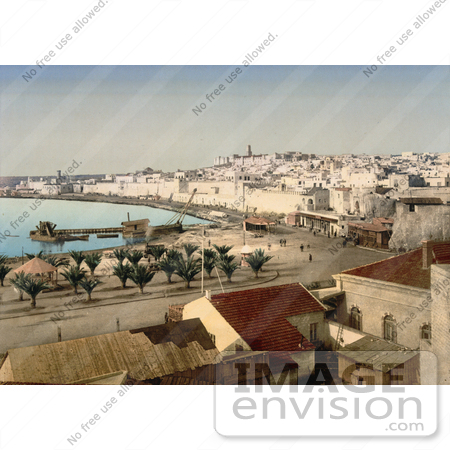 #13435 Picture of Sousse, Tunisia on the Gulf of Hammamet by JVPD