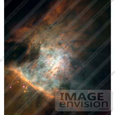 #1344 Photo of the Orion Nebula, Messier 42, M42, NGC 1976 by JVPD