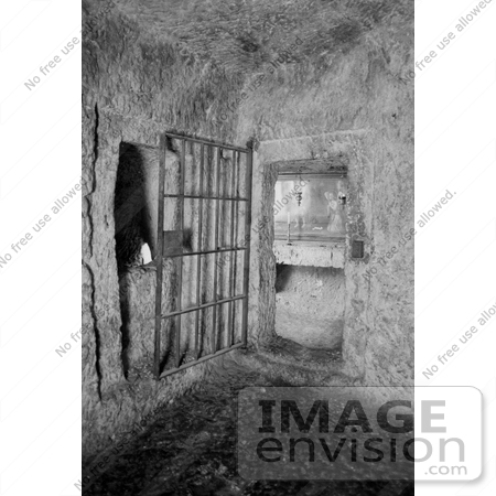 #13478 Picture of a Prison Cell in the Prison of the Antonia Fortress by JVPD