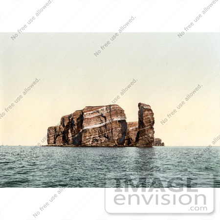 #13638 Picture of North Point and Hengst, Helgoland, Germany by JVPD