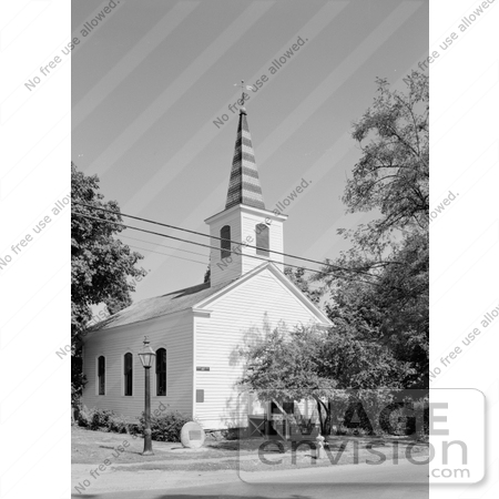 #14258 Picture of the Historic Methodist Episcopal Church in Jacksonville, Oregon by JVPD