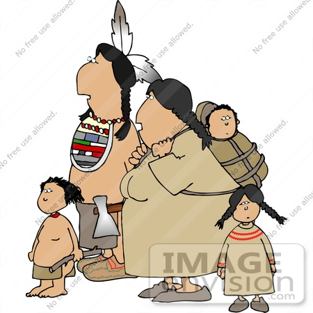 Royalty-Free Cartoons & Stock Clipart of Native Americans | Page 1