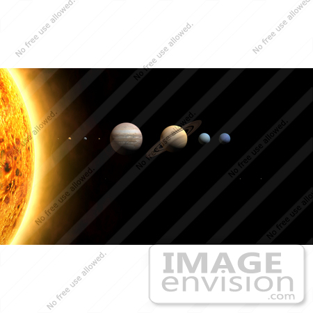 #14674 Picture of Planets of the Solar System by JVPD