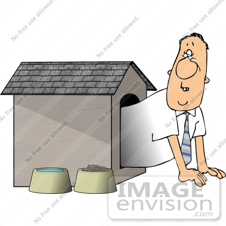 Dog House Clipart