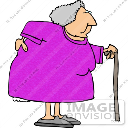 old woman with a sore back using a cane clipart 15024 by djart rh imageenvision com old woman clipart free old woman dancing clipart