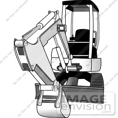 Excavating Machine Clipart | #15036 by DJArt | Royalty ...
