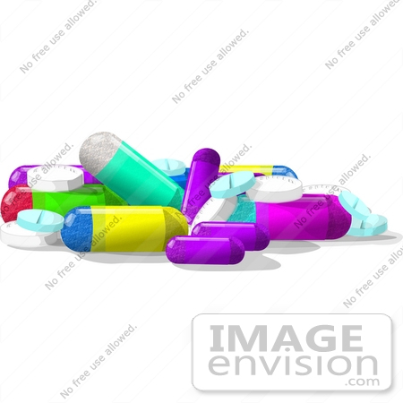 mixed pile of pills clipart 15044 by djart royalty free stock rh imageenvision com Muscle Relaxer Pills Pill Capsule