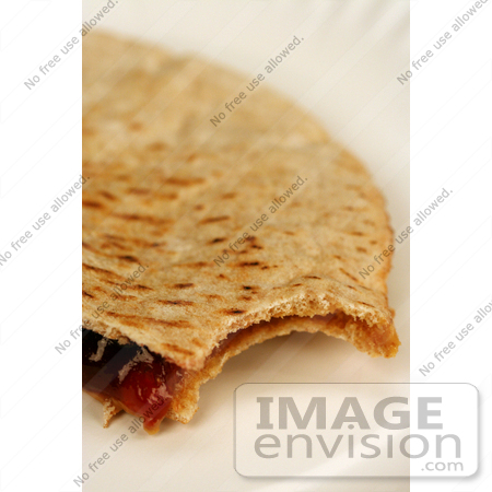 #1535 Peanut Butter and Jelly Pita Sandwich by Jamie Voetsch