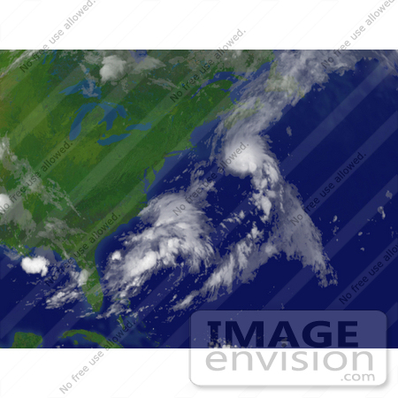 #15429 Picture of Tropical Storm Chantal Near Bermuda by JVPD