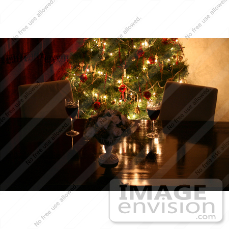#1558 Christmas Table Setting by Jamie Voetsch