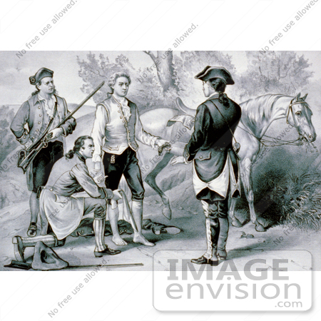 #1734 The Capture of John Andre by JVPD