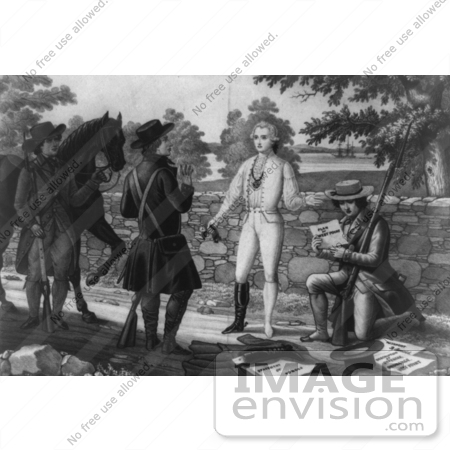 #1735 The Capture of John Andre by JVPD