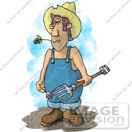 Royalty-Free Pitchfork Stock Clipart & Cartoons | Page 1