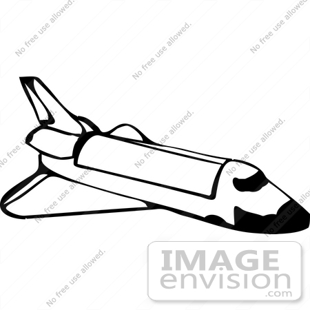space shuttle rocket clipart 17849 by djart royalty free stock rh imageenvision com clip art black and white squirrels clip art black and white squirrels