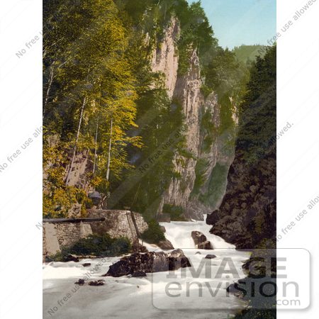 #18084 Picture of the Linth River in the Ravine of the Murg, Glarus, Switzerland by JVPD