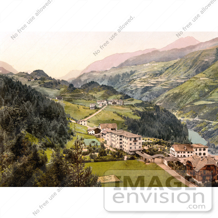 #18085 Picture of the Villages of Vulpera and Fetan, Lower Engadin, Graubunden, Switzerland by JVPD