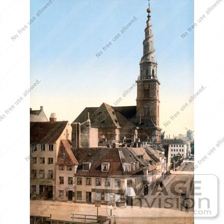 Photo of the Saviour Church or Church of Our Saviour in Copenhagen
