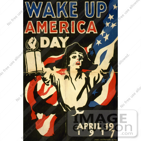 #1863 Wake up America Day, April 19, 1917 by JVPD