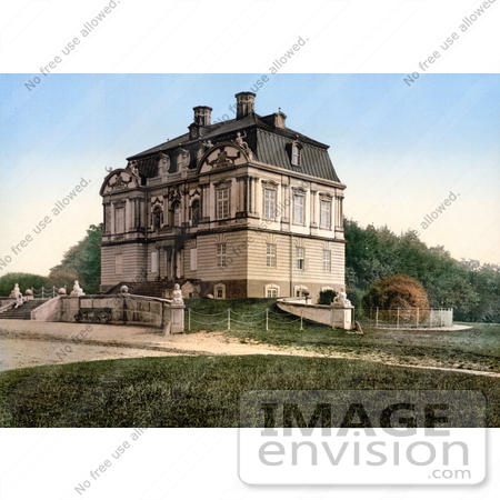 #18637 Photo of Klampenborg Hermitage, Eremitage Palace or Eremitage Hunting Lodge, Dyrehaven, Copenhagen, Denmark by JVPD