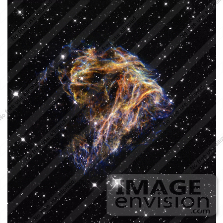 #18753 Photo of Debri Resembling Fireworks in the Large Magellanic Cloud Galaxy by JVPD
