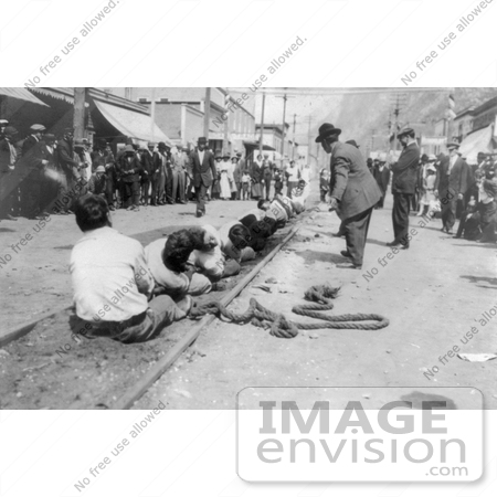 #18805 Photo of a Battle of Tug of War in Skagway, Alaska by JVPD