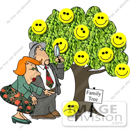 From a Family Tree Clipart