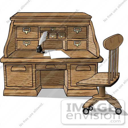 Royalty-Free Desk Stock Clipart & Cartoons | Page 1