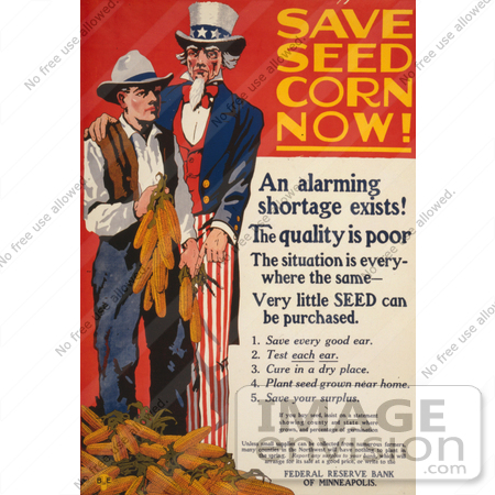 #1900 Save Seed Corn Now! by JVPD