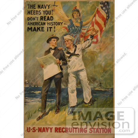 #1906 The Navy Needs You! Don by JVPD