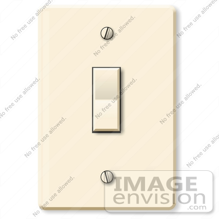 Common Light Switch Clipart | #19888 by DJArt | Royalty-Free Stock ...