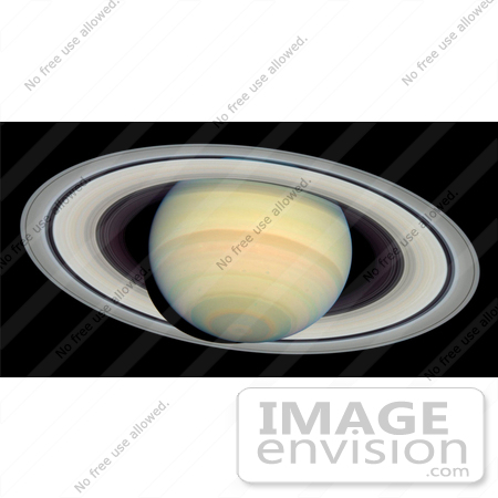 #20029 Stock Photography of Saturn and its Rings by JVPD