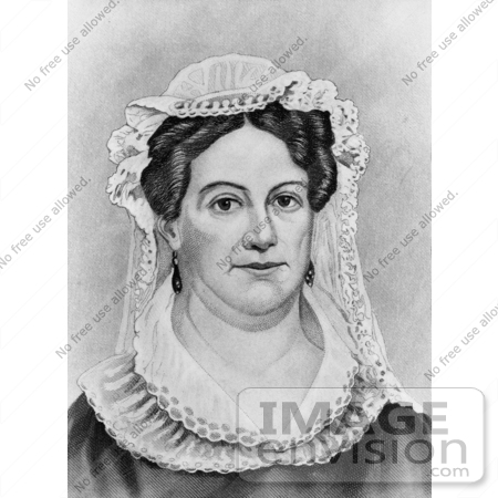 #20856 Stock Photography of First Lady Rachel Jackson, Wife of American President Andrew Jackson by JVPD