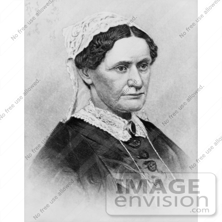 #20861 Stock Photography of First Lady Eliza McCardle Johnson, Wife of American President Andrew Johnson by JVPD