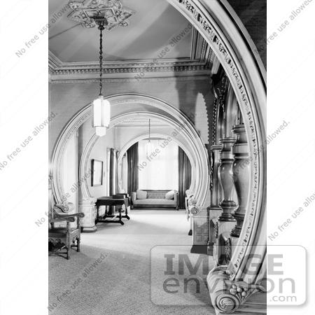 Hallway Of The Queen Anne Victorian William Carson Mansion House