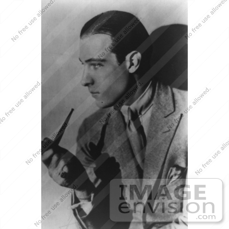 #20918 Stock Photography of the Italian Sex Symbol Actor, Rudolph Valentino ...