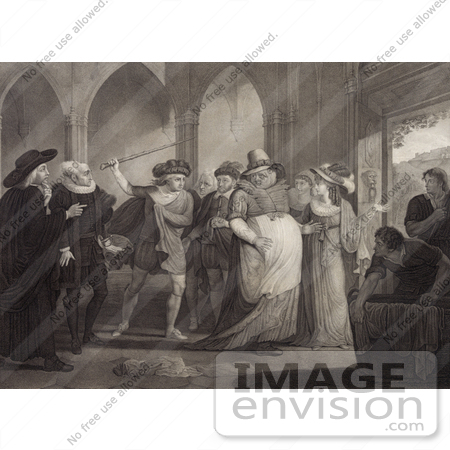 #21090 Stock Photography of Anne Page of the Merry Wives of Windsor by William Shakespeare by JVPD
