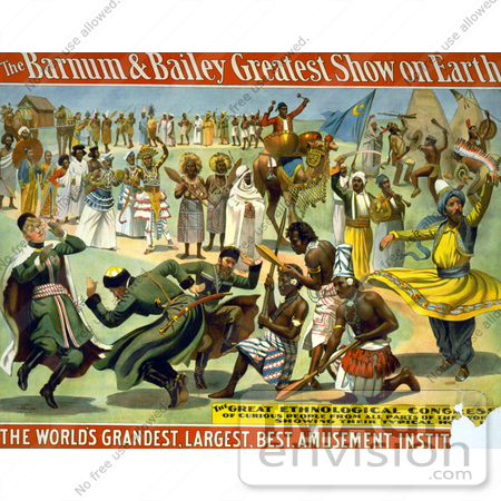 Barnum And Bailey. a Barnum and Bailey Poster