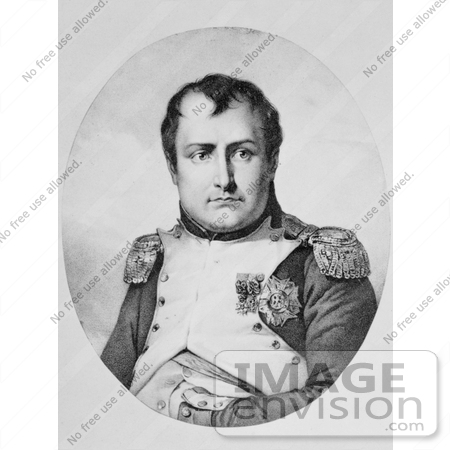 #21321 Stock Photography of Napoleon Bonaparte by JVPD