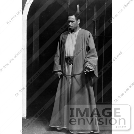 #21350 Stock Photography of Paul Robeson as Othello by JVPD