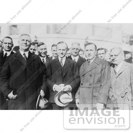 #2152 Calvin Coolidge and Members of the National Motors Asociation by JVPD